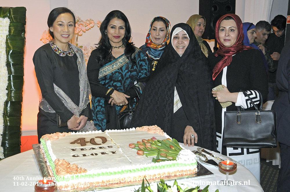 20. Madam Linda Zin, Dr. Nasrin Dilruba, Madam Maryam Jahangiri and friends