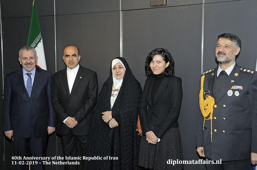 5. left H.E. Mr. Şaban Dişli, Ambassador of Turkey and spouse, Madam Ayse Dişli Diplomat Affairs Magazine