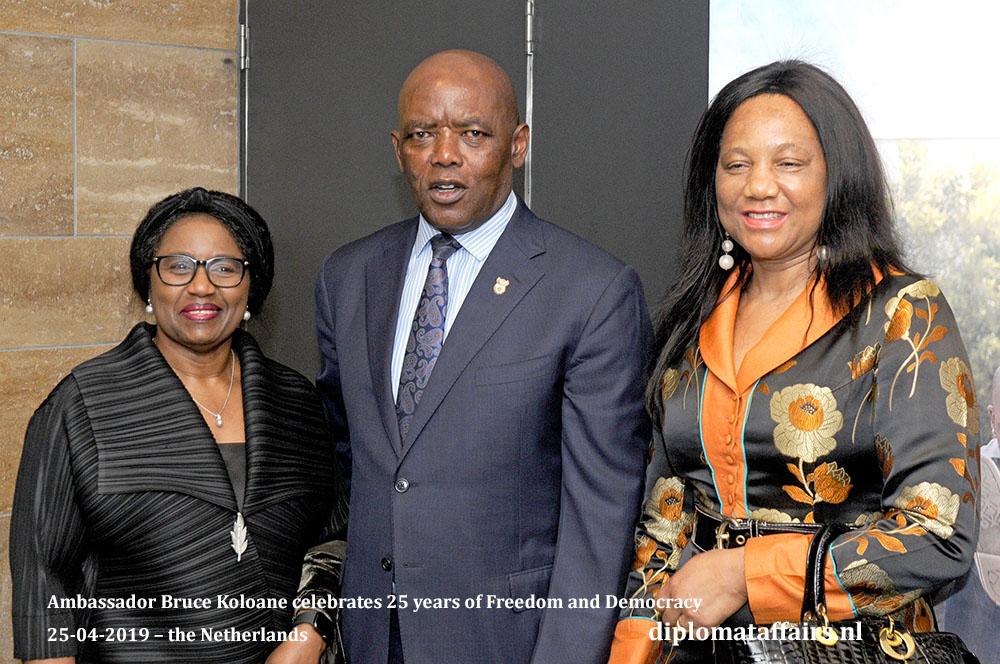 11. Left H.E. Mrs. Irene F. M. Kasyanju Ambasador of Tanzania