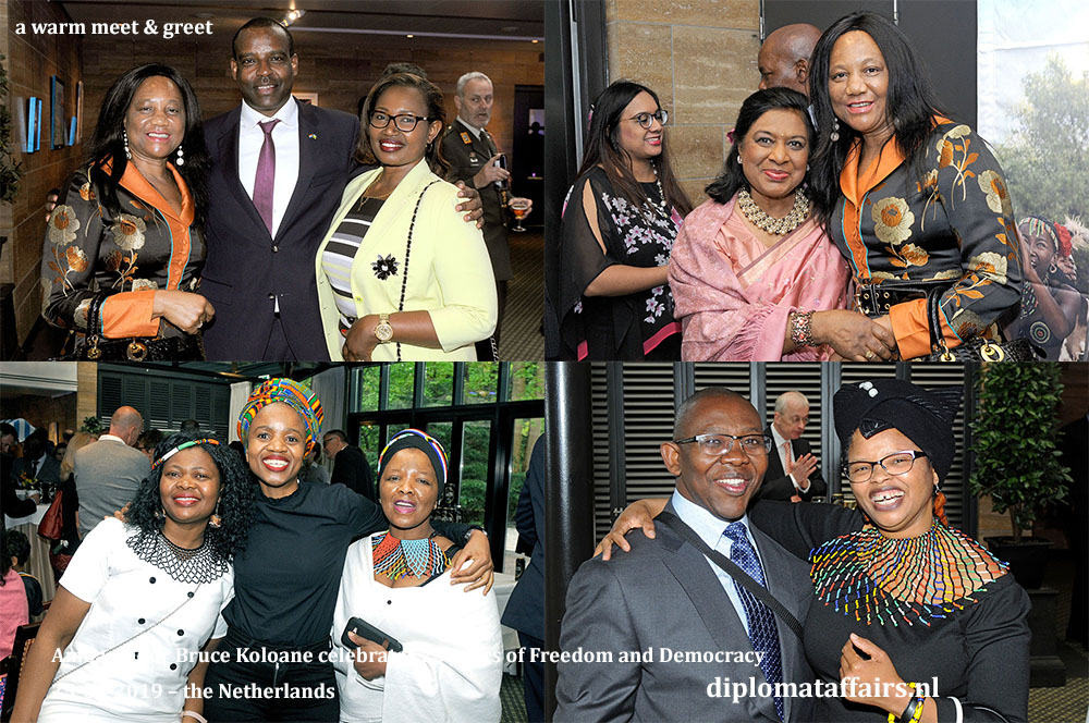 13a. A warm meet & greet at the National Day celebration of South Africa Diplomat Club Wassenaar Kasteel De Wittenburg
