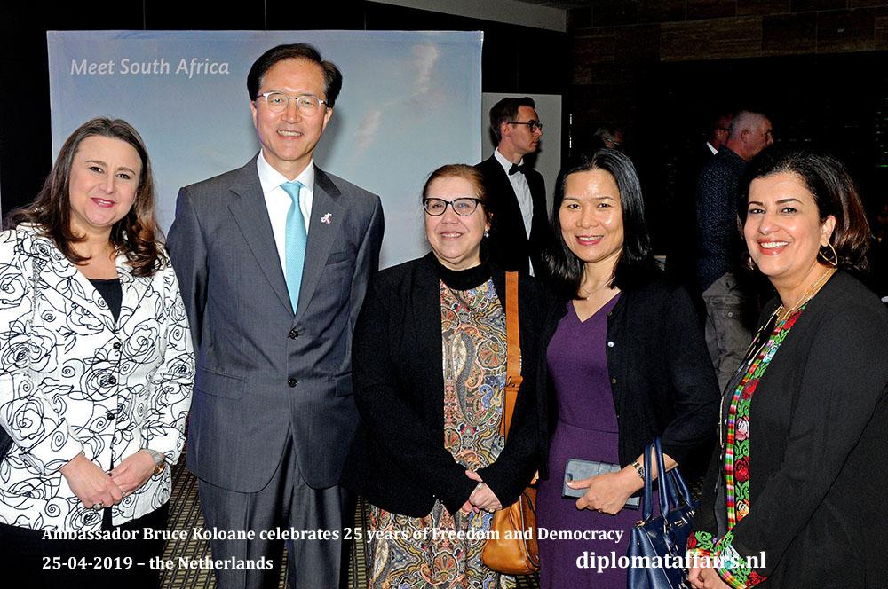 9a. H.E. Ms. Haifa Aissami Madah (Venezuela), H.E. Mr. Yun Young Lee (South Korea), H.E. Mrs. Soraya Elena Álvarez Núñez (Cuba) H.E. Mrs. Ngo Thi Hoa (Viet Nam) H.E. Ms. Rawan Sulaiman (palestine)
