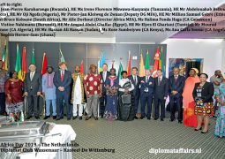 Africa day 2019: reaping the fruits of the efforts made 56 years ago by the Founding Fathers of the Organisation of African Unity