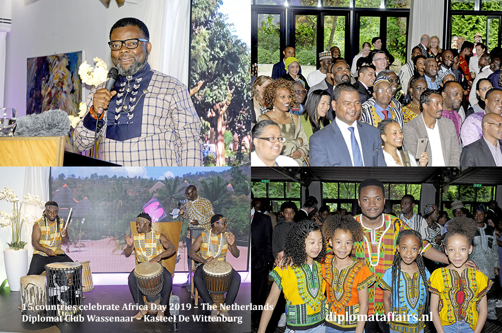 7. 15 countries celebrate Africa Day 2019 – The Netherlands Diplomat Club Wassenaar Diplomat Affairs Magazine