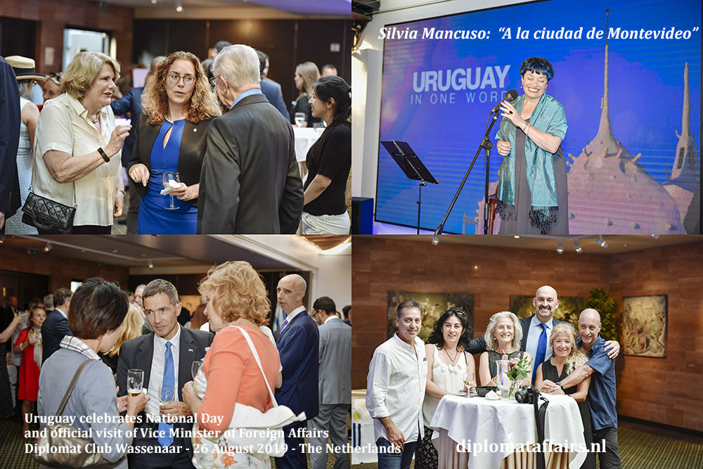 17 .jpg Ambassador Laura Dupuy celebrates National Day of Uruguay and the official visit of H.E. Mr. Ariel Bergamino, Vice Minister of Foreing Affairs