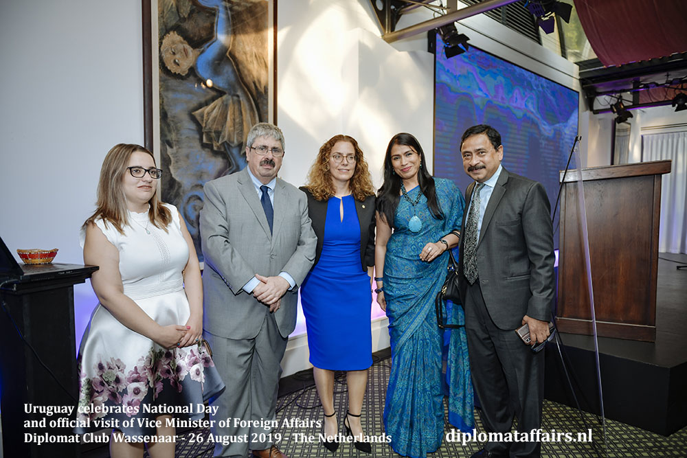 8 .jpg Right, the Ambassador of Bangladesh, H.E. Sheikh Mohammed Belal and Dr. Nasrin Dilruba