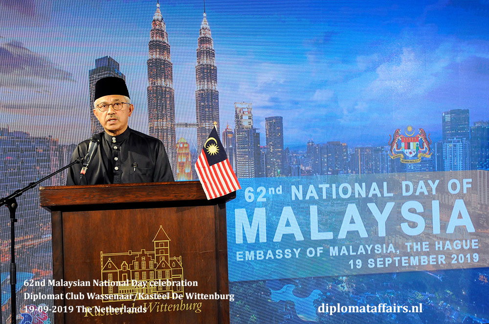 Ambassador of Malaysia to the Kingdom of the Netherlands, H.E. Dato' Ahmad Nazri bin Yusof