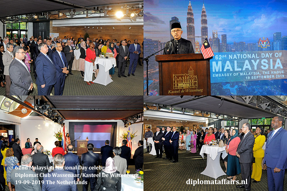 2. jpg Ambassador of Malaysia, H.E. Dato' Ahmad Nazri bin Yusof and Mrs. Linda Zin celebrate National Day Diplomat Affairs Magazine