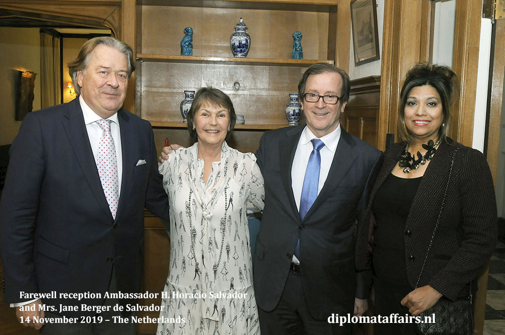291.jpg the President of TenRande Foundation Mr. Peter Bliek and the Founder of DIplomat Club Wassenaar Mrs. Shida Bliek Diplomat Affairs Magazine