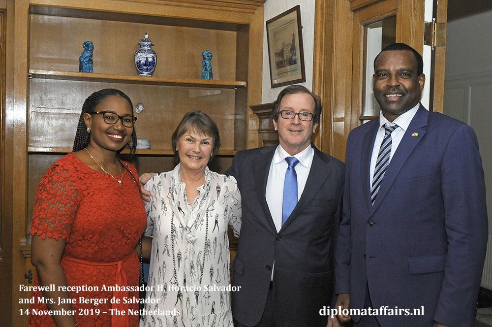 291a.jpg the Ambassador of Rwanda, H.E. Mr. Jean Pierre Karabaranga Mrs. Viviane Mironko Uwicyeza Diplomat Affairs Magazine
