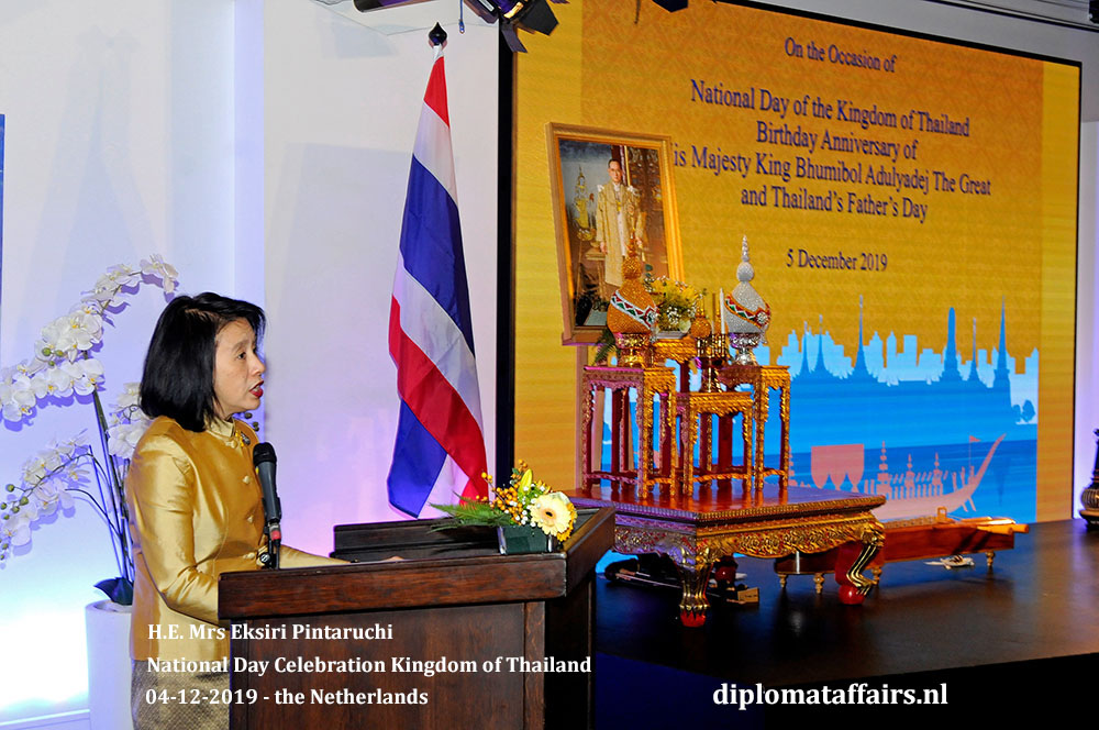 1.jpg National Day Thailand hosted by Ambassador Her Excellency Mrs. Eksiri Pintaruchi