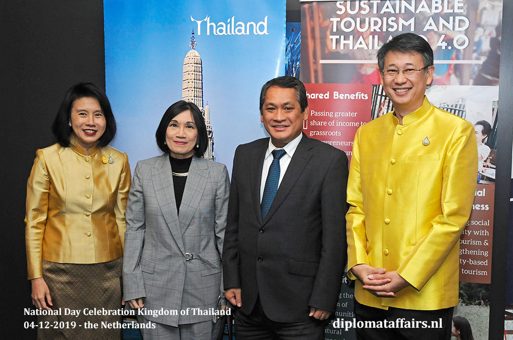10.jpg H.E. Mrs. Eksiri Pintaruchi, Mrs. Veredigna Ledda, Ambassador of The Philippines H.E. Mr Jaime Victor B. Ledda and Mr Thongvut Pintaruchi