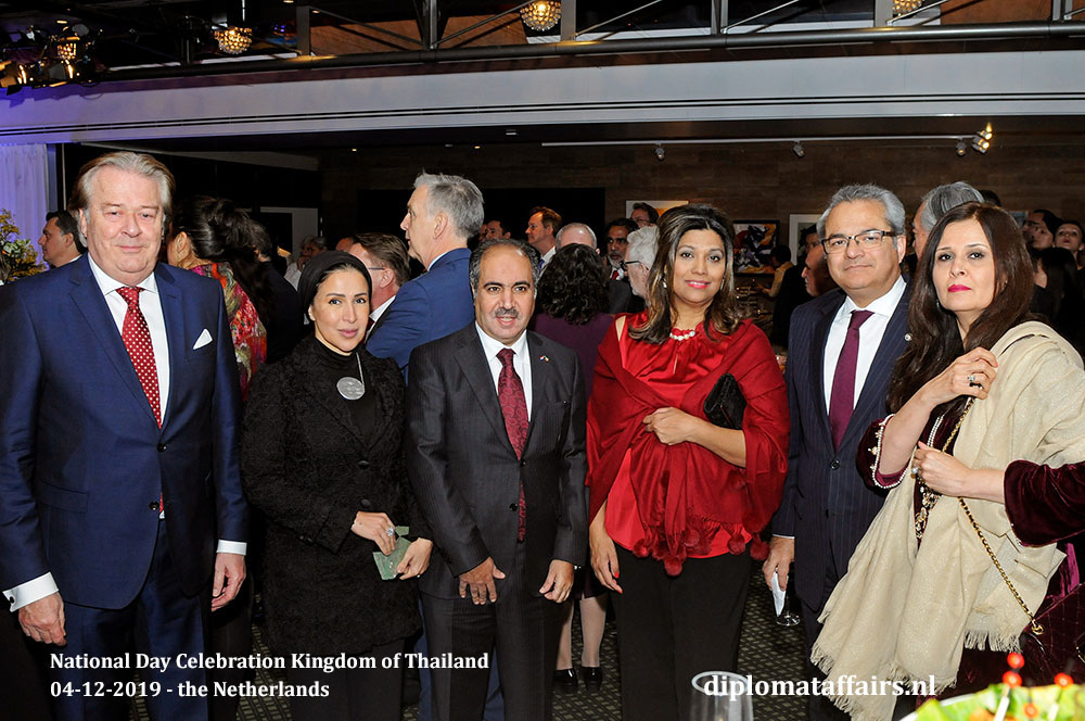 14.jpg Mr Peter Bliek, Mrs Jamila Al-Otaibi, H.E. Mr. Abdul Rahman Humood Al-Otaibi (Kuwait), Mrs. Shida Bliek, H.E. Mr. Shujjat Ali Rathore (Pakistan) and Mrs. Uzma Shujjat