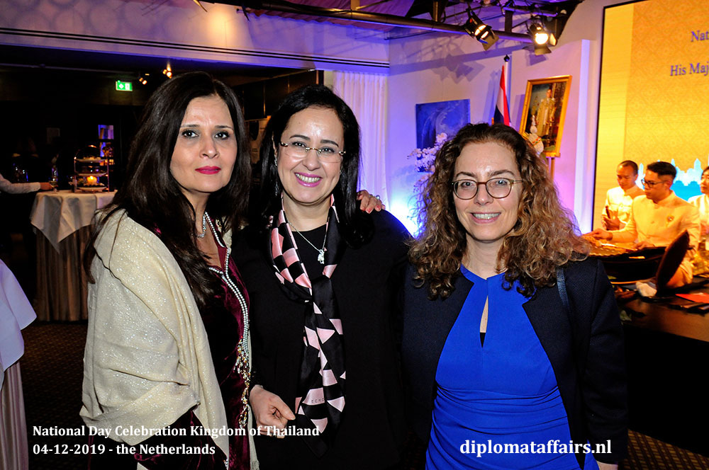 17.jpg Mrs. Uzma Shujjat (Pakistan), Mrs. Najat Bellouki (Morocco) and the Ambassador of Uruguay Ms. Laura Dupuy