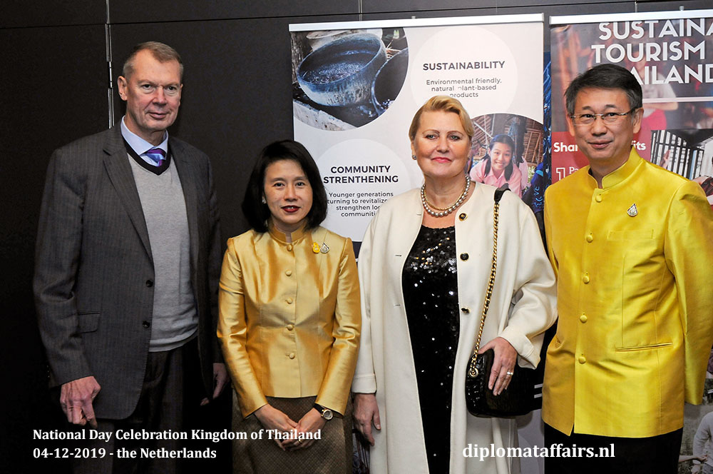 4.jpg Ambassador of the Russian Federation, H.E. Mr Alexander Shulgin, H.E. Mrs Eksiri Pintaruchi, Mrs Natalia Shulgina and Mr Thongvut Pintaruchi