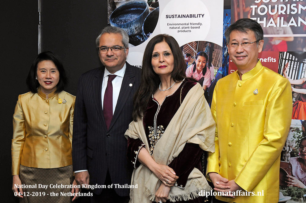 5.jpg H.E. Mrs Eksiri Pintaruchi, Ambassador of Pakistan H.E. Mr. Shujjat Ali Rathore, Mrs. Uzma Shujjat and Mr Thongvut Pintaruchi