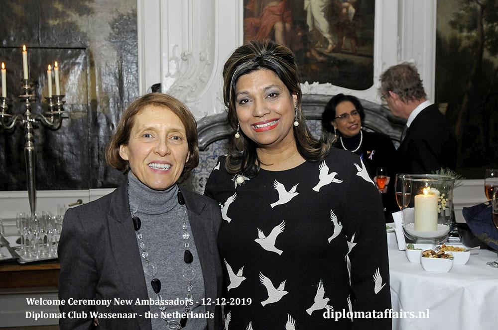 15.jpg Ambassador of Portugal H.E. Mrs Rosa Batoréu, Mrs Shida Bliek Diplomat Affairs Magazine