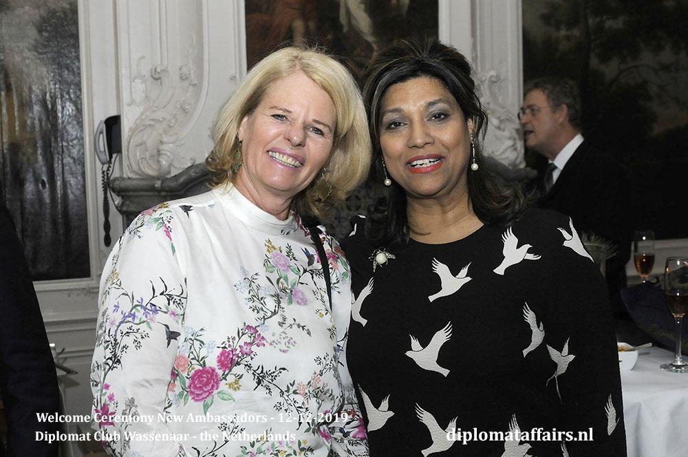 5b.jpg Alderman of Wassenaar, Mrs Caroline Klaver-Bouman, Mrs. Shida Bliek Diplomat Affairs Magazine
