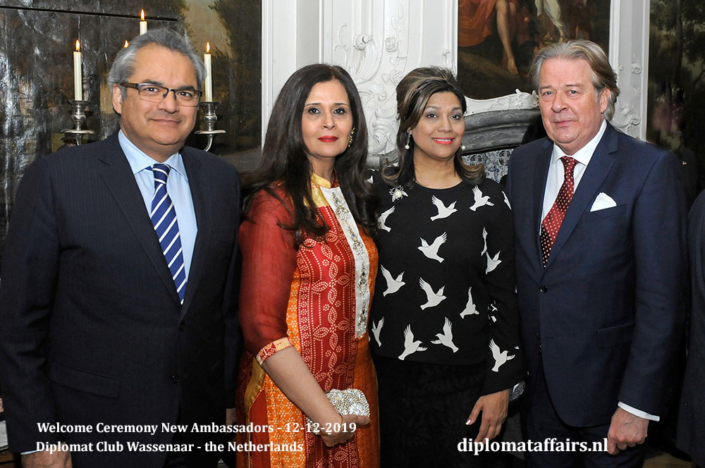 9a.jpg Ambassador of Pakistan, H.E. Mr Shujjat Ali Rathore, Mrs Uzma Shujjat, Mrs Shida Bliek, Mr Peter Bliek
