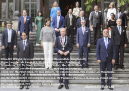 New Ambassadors welcomed to the Netherlands in accordance with strict Covid-19 protocol