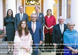 Australian Ambassador bids farewell to the Ambassador of Pakistan  to the Netherlands